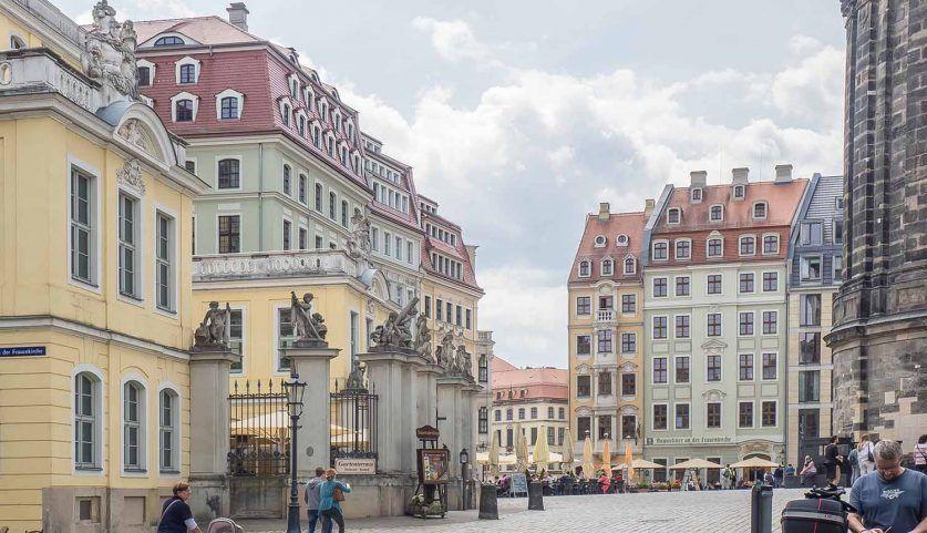 Historisches Stadtzentrum von Dresden, Platz an der