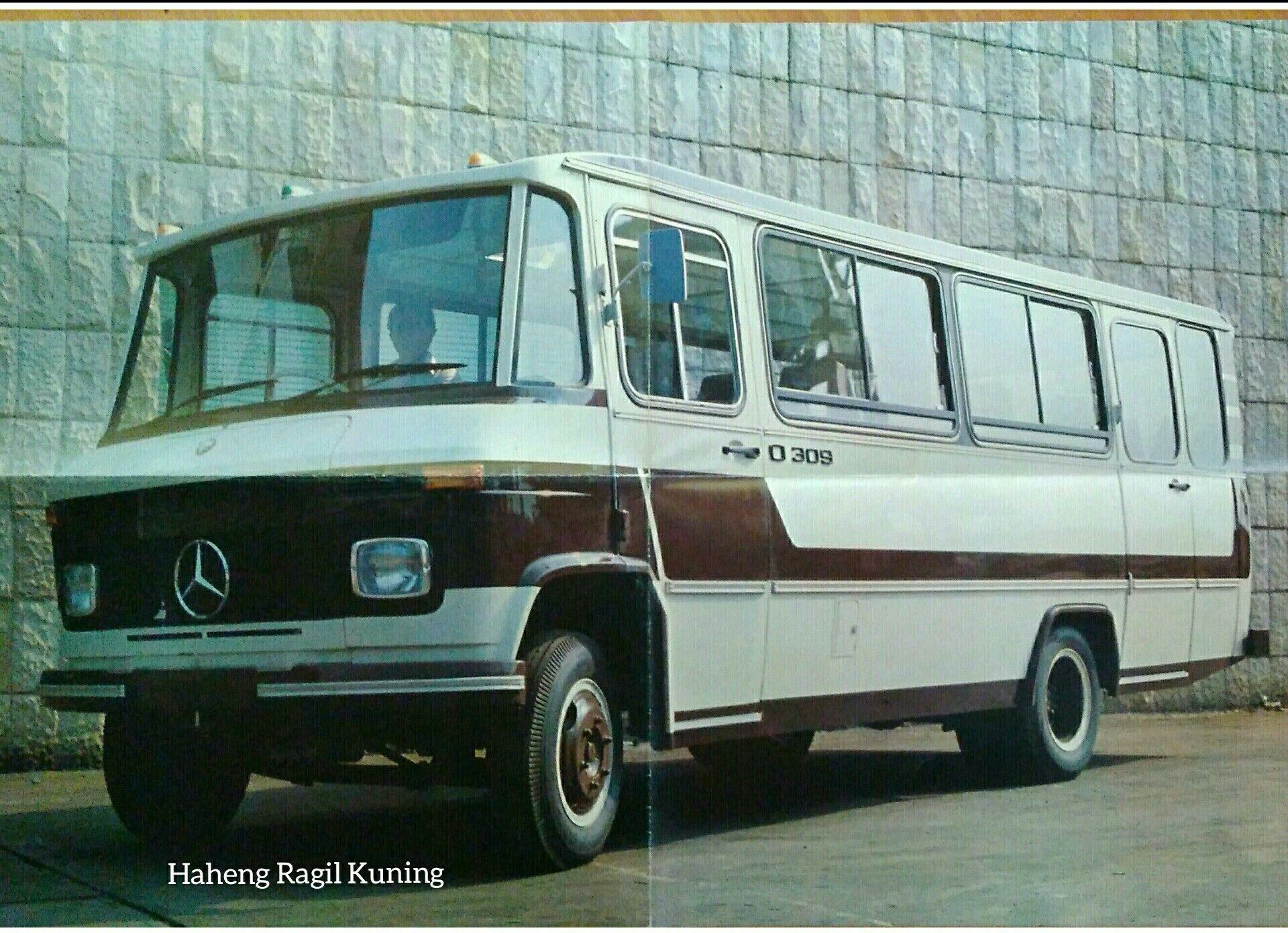 Mercedes Benz O 309 Mobil