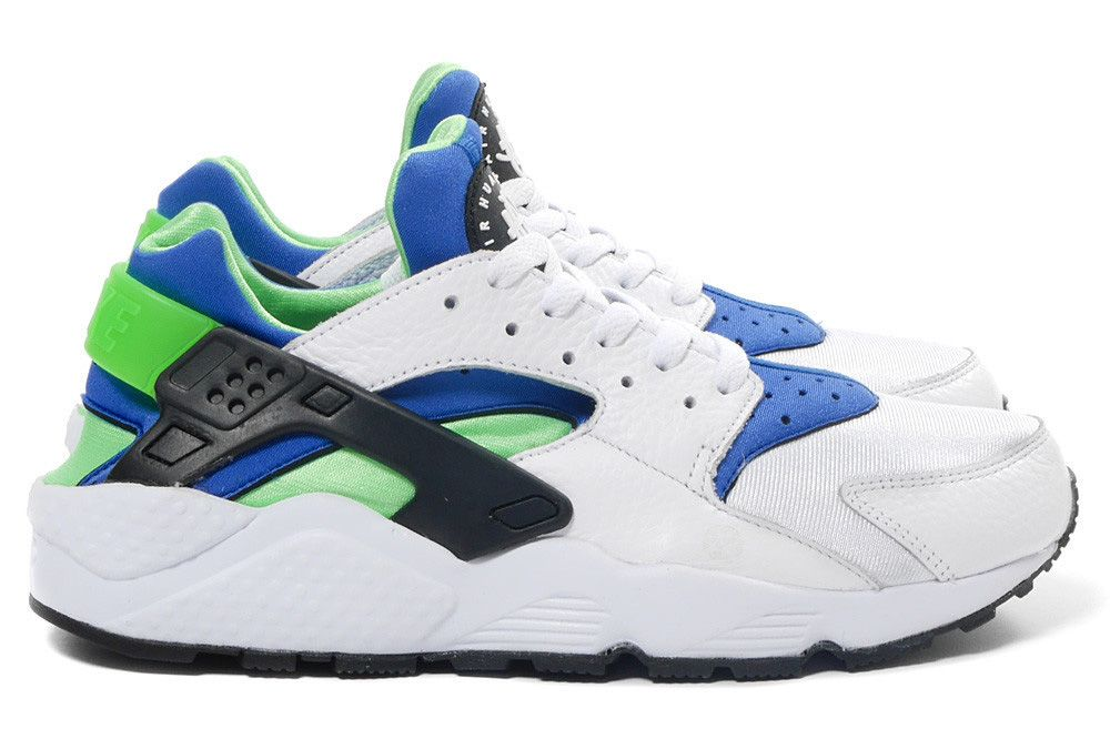 88b96136af6 The Scream Green colorway of the Nike Air Huarache dates back to produced  during the runner s original run. Since then