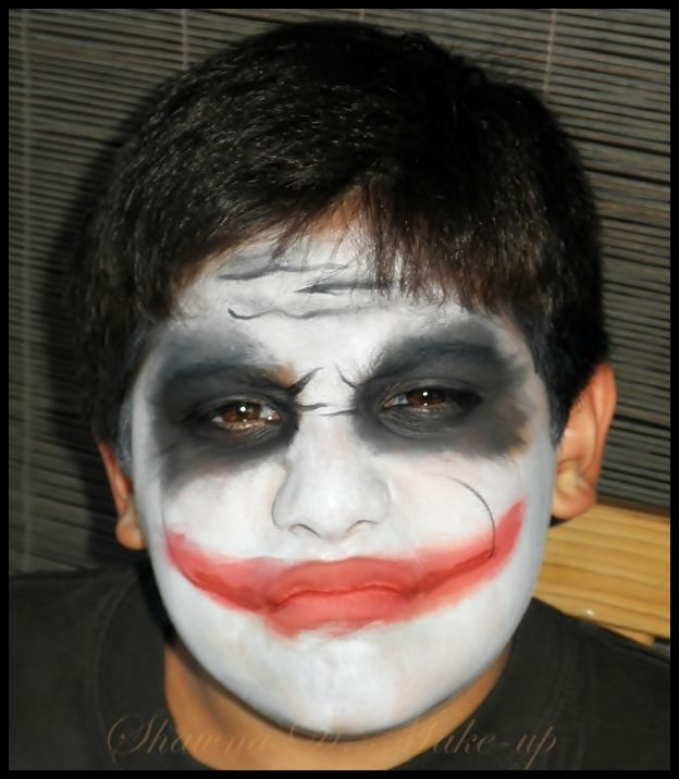 scary halloween face painting ideas for boys - Halloween Easy Face Painting