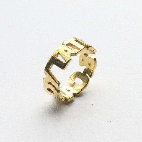 Couple Name Ring It S Sturdy Flattering And Evoke An Undeniable
