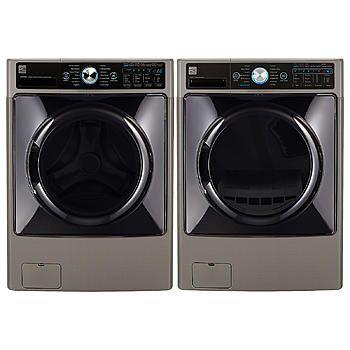 Kenmore Elite-4.5 cu. ft. Front-Load Washer & 7.4 cu. ft. Dryer w/ Steam