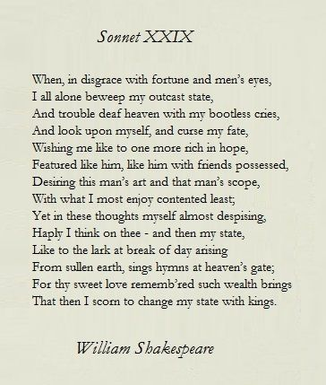 poem analysis sonnet 116 Sonnet 116 has fourteen lines and a rhyme scheme ababcdcdefefgg - three quatrains and a couplet most end rhymes are full except for lines 2 and 4: love/remove, 10 and 12: come/doom and 13 and 14: proved/lovedbut don't forget, in shakespeare's time some of.