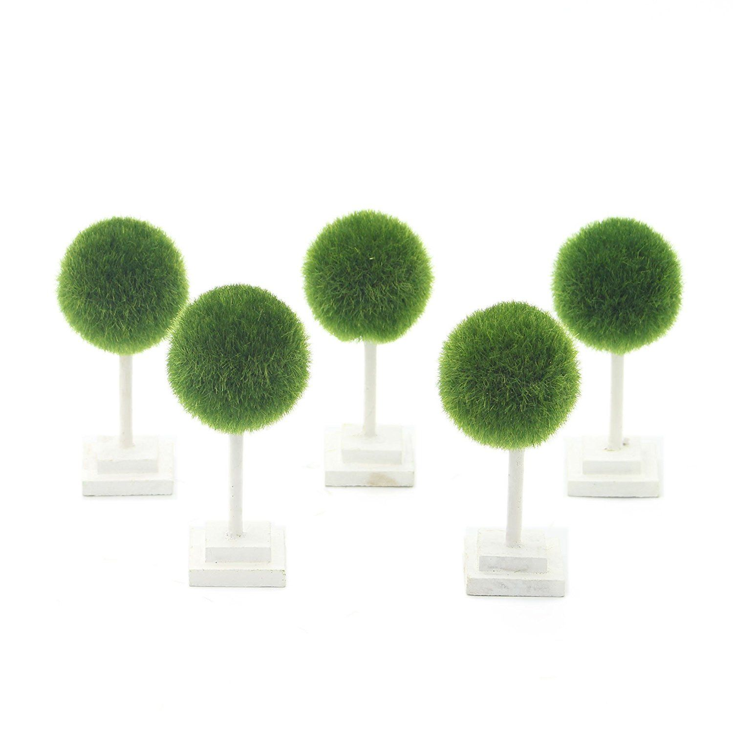 artificial plants for office decor. VIMI Mini Artificial Plants And Trees , Decor Bonsai For Office Desk Table Decorations Green Ball 4.6 Inch Set Of 5 *** Want Additional Info? L