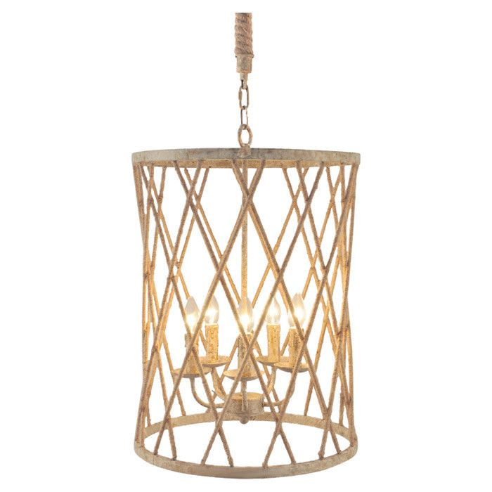 Lovely openwork cylindrical chandelier light my way pinterest cream five light chandelier mozeypictures Images