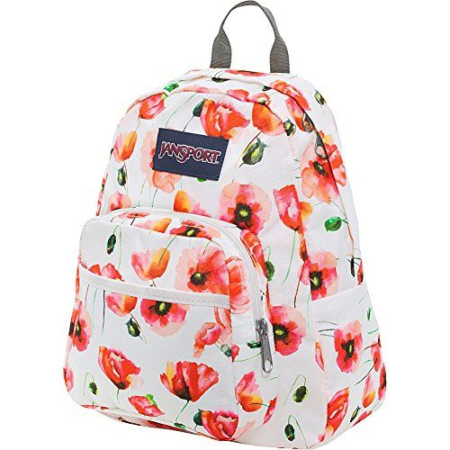JanSport Half Pint Backpack- Discontinued Colors (Multi Cali Poppy ... eb35831cc0862