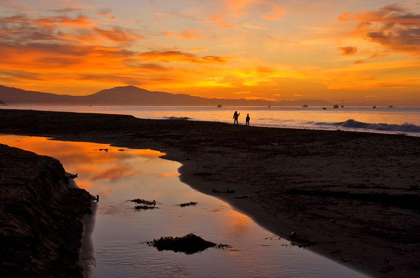 East Beach, Santa Barbara, California - EUA