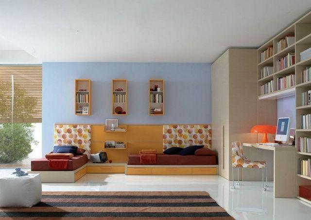 Chambre de fille ado de design contemporain- 25 idées cool