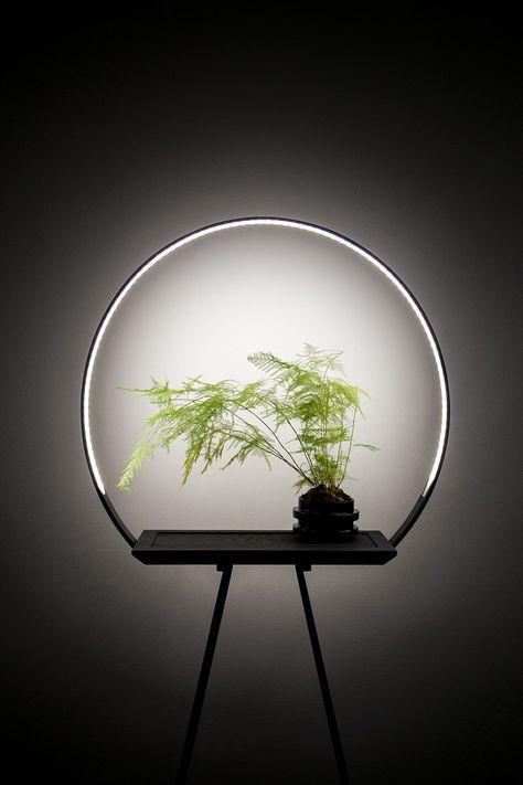Au 34 Halo Planter With A Special Led Light To Enhance Growth Designboom Shop Decorative Lighting Design Lighting Design Interior Interior Led Lights