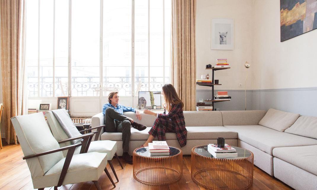 2c216e9e141959 Maria de la Orden et Jérôme Baril   Mobilier   Pinterest   Living ...