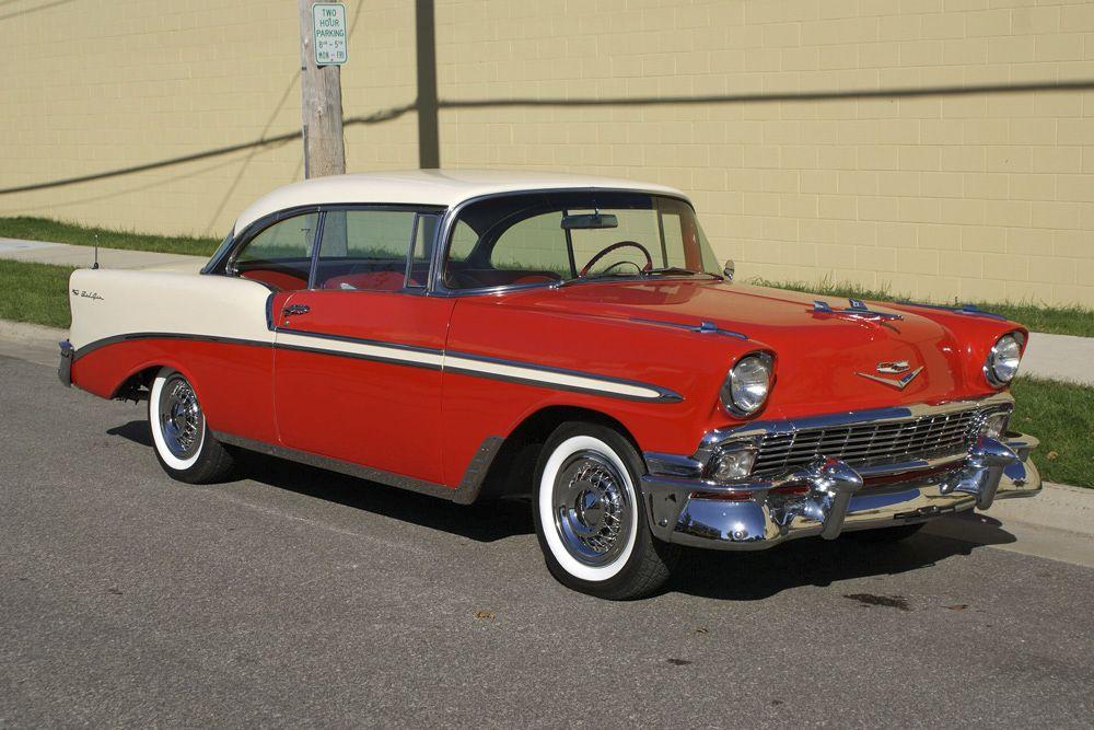 1956 Chevrolet Bel Air 2 Door Hardtop 56 Chevy Bel Air
