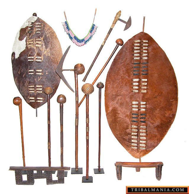 African warrior shield and spear - Google Search | Black ...