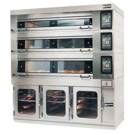 Doyon 3t4 Artisan Stone Four Deck Oven Electric 12pan Capacity