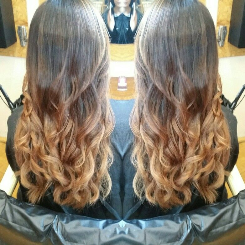Caramel /gold balayage inspiration. Balayage ideas.  Balayage hair inspiration.