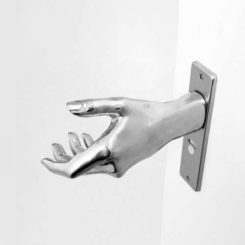 20 Quirky Door Handles - From Eerie Hand-Shaped Knobs to Firearm Door Openers ( & 20 Quirky Door Handles - From Eerie Hand-Shaped Knobs to Firearm ... Pezcame.Com