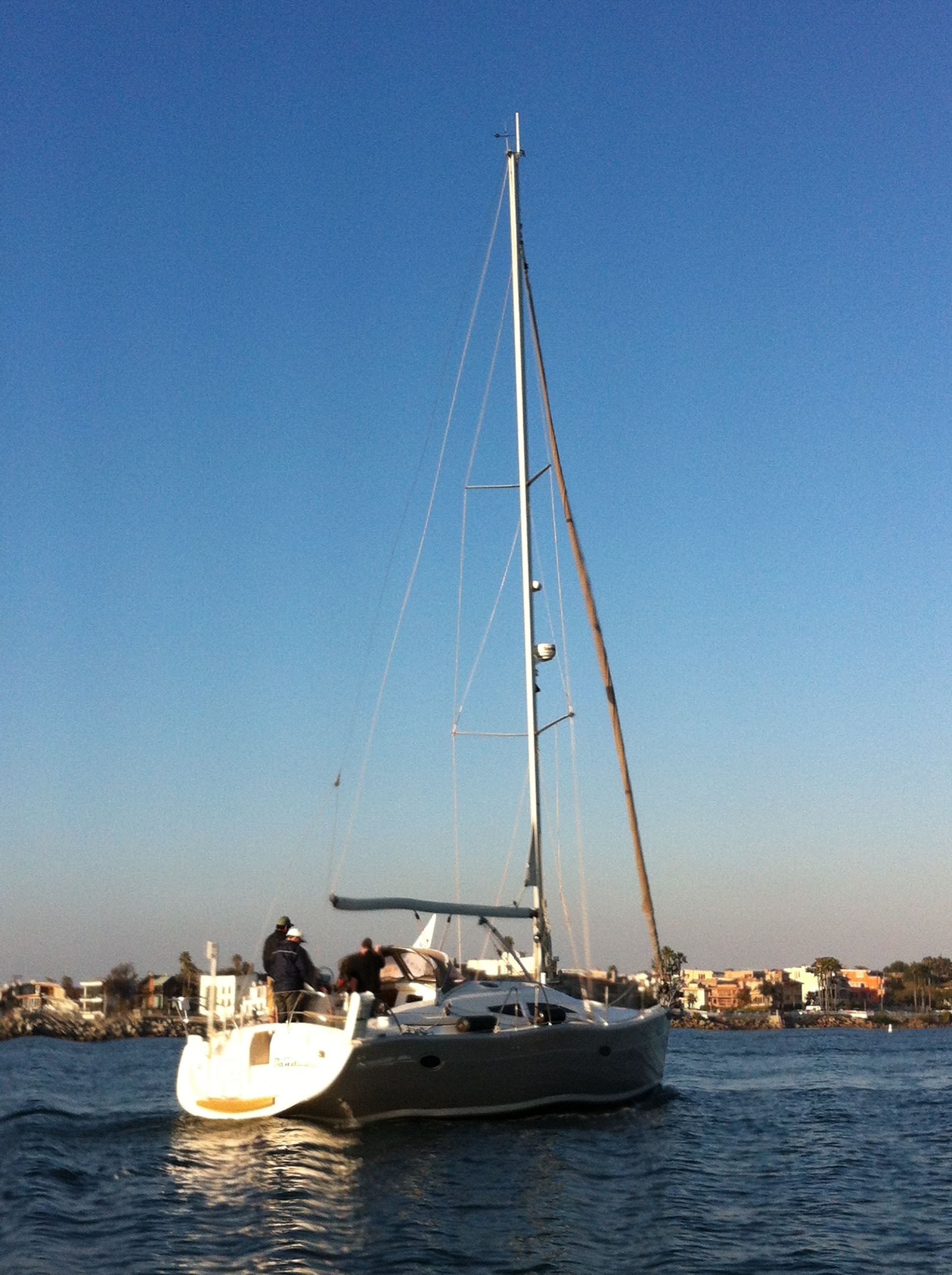 #MarinaDelRey #sailboat racers
