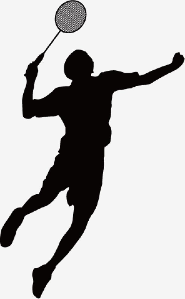 Badminton Silhouettes Badminton Sport Badminton Silhouette