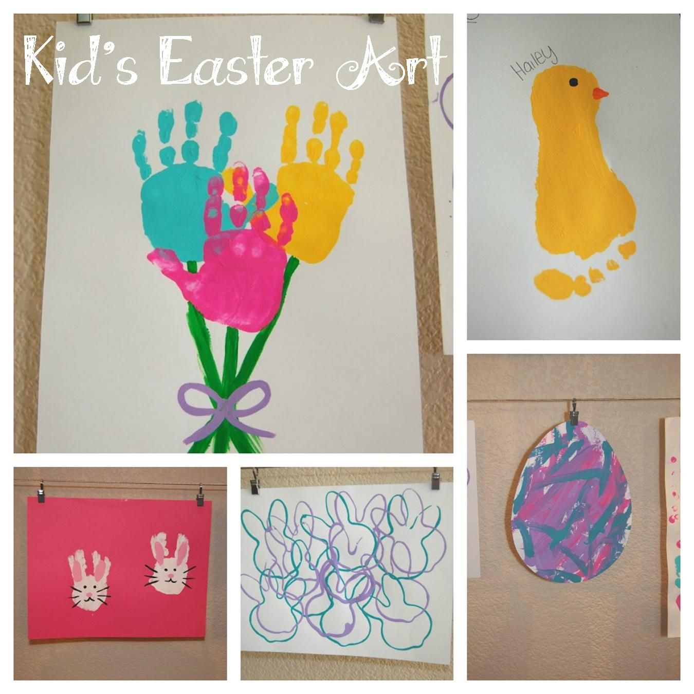 Kid S Easter Art Pinning This For My Sweet Friend