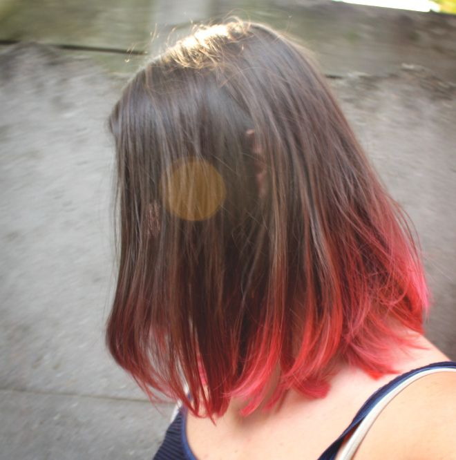 Pink Ombre Hair Diy Tutorial Hair Color For Black Hair Dipped