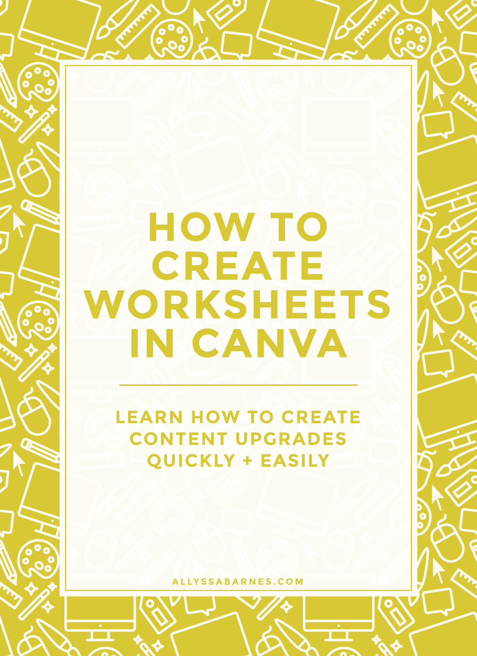 How To Create Worksheets Amp Workbooks With Canva
