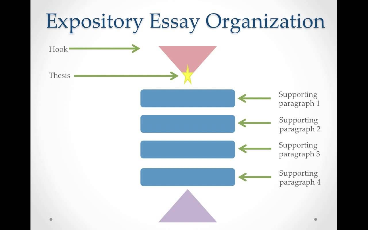 expository essay paragraph structure Expository essay  use showing details v telling details c maintain a focus on  the main idea throughout the body paragraphs d write an effective conclusion.