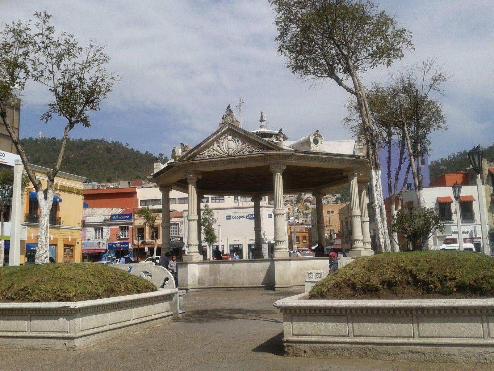 Kiosco en Pachuca