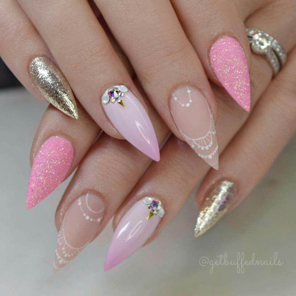 Pin de JolieFa en Beauty nails | Pinterest | Diseños de uñas, Arte ...