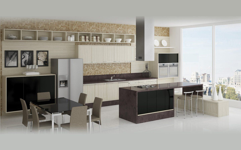 Cozinhas americanas pesquisa google ideias para a casa - Casas americanas modernas ...