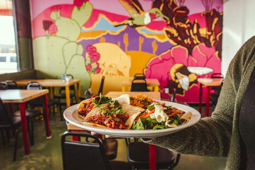 La Chaiteria By Tumerico Now Open On Grande Congress In 2020 Salsa Bar Vegan Mexican Mexican Restaurant