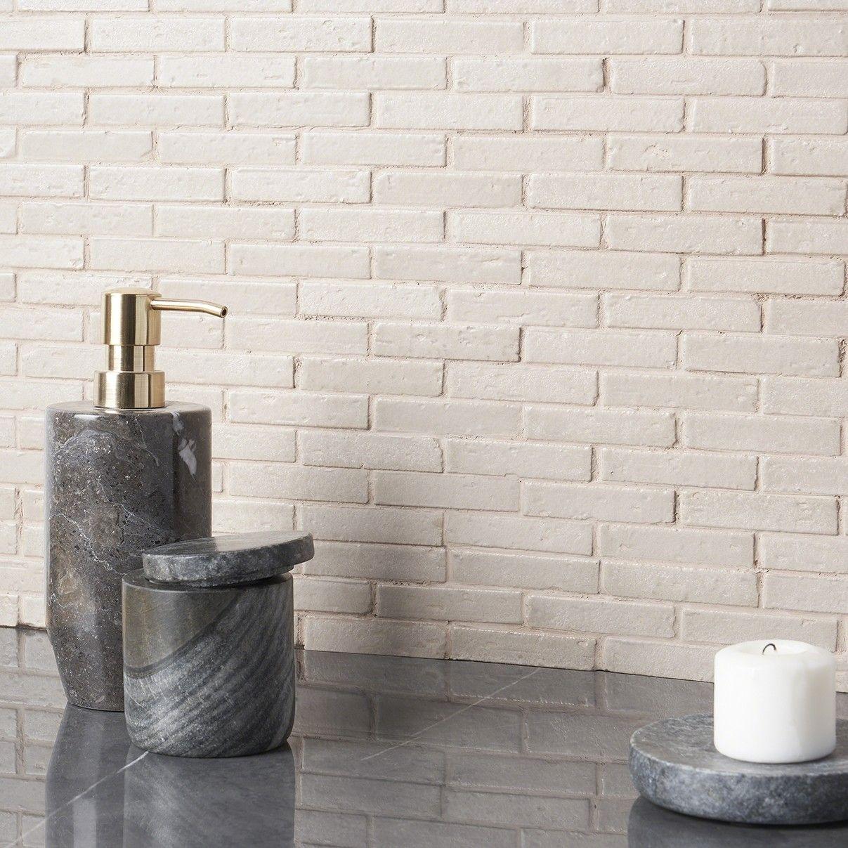 Bohemian Brick Tundra 1 2x3 Mosaic Tile With Images Mosaic