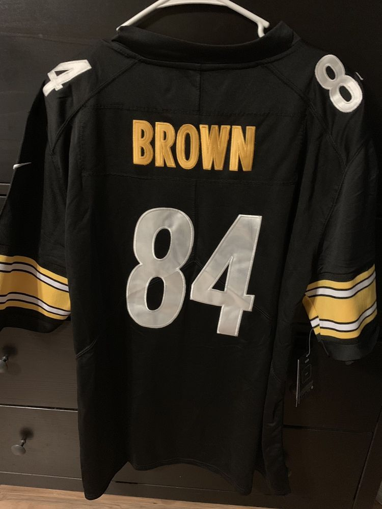NEW NFL NIKE On Field 84 ANTONIO BROWN HOME JERSEY Men s XL Pittsburgh  Steelers   60.00 End Date  Saturday Nov-24-2018 5 36 55 PST Buy It… 25e3ff3d8