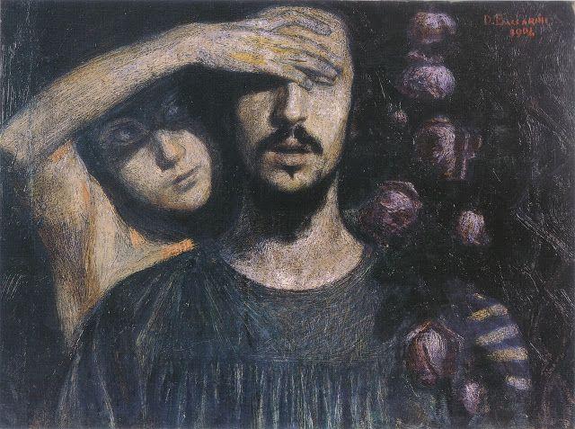 Domenico Baccarini (1882-1907), La Donna - 1904