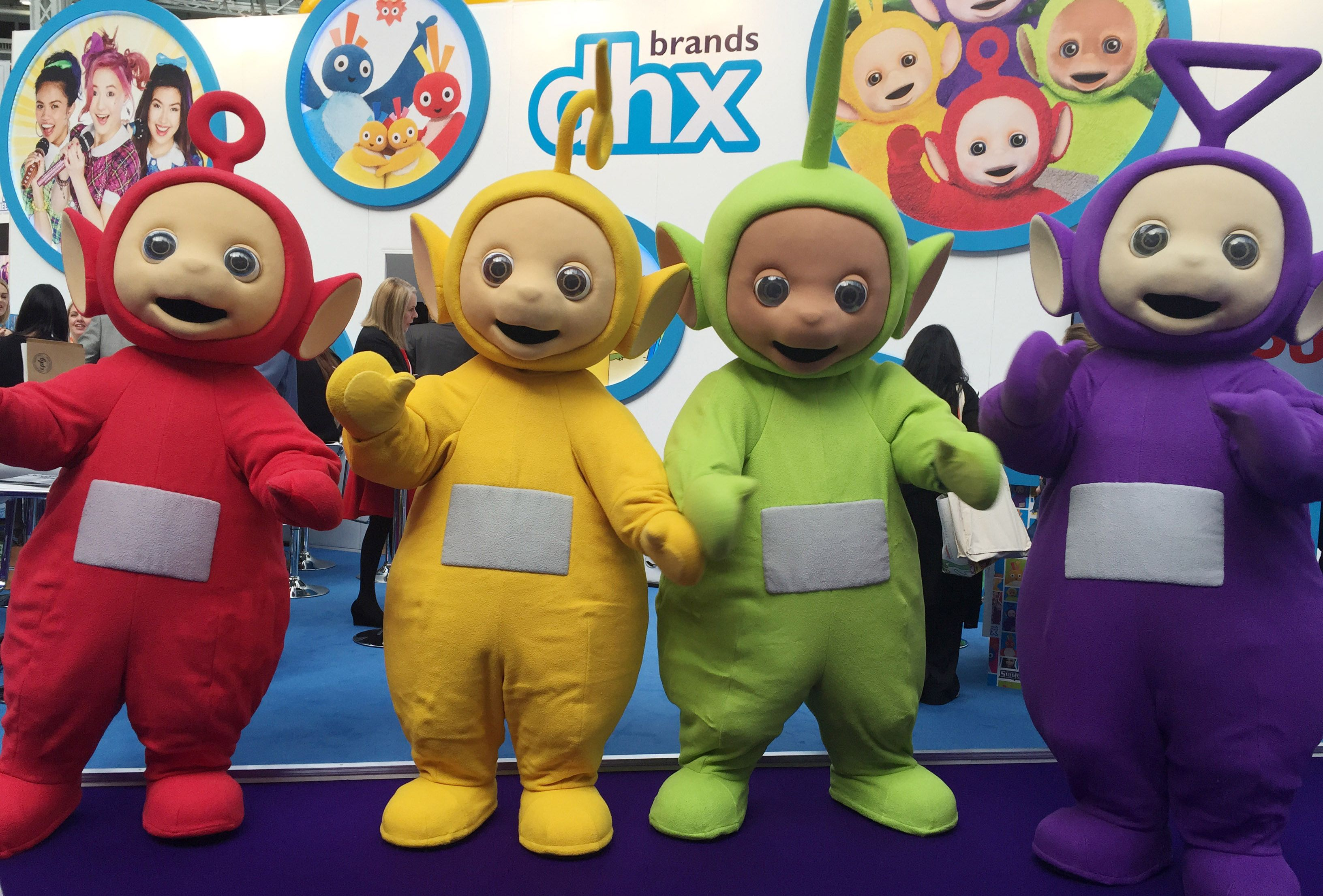 Teletubbies mascot pinterest book licensed teletubbies tinky winky dipsy laa laa and po for appearances at visitor attractions childrens festivals and parades across the uk kristyandbryce Images