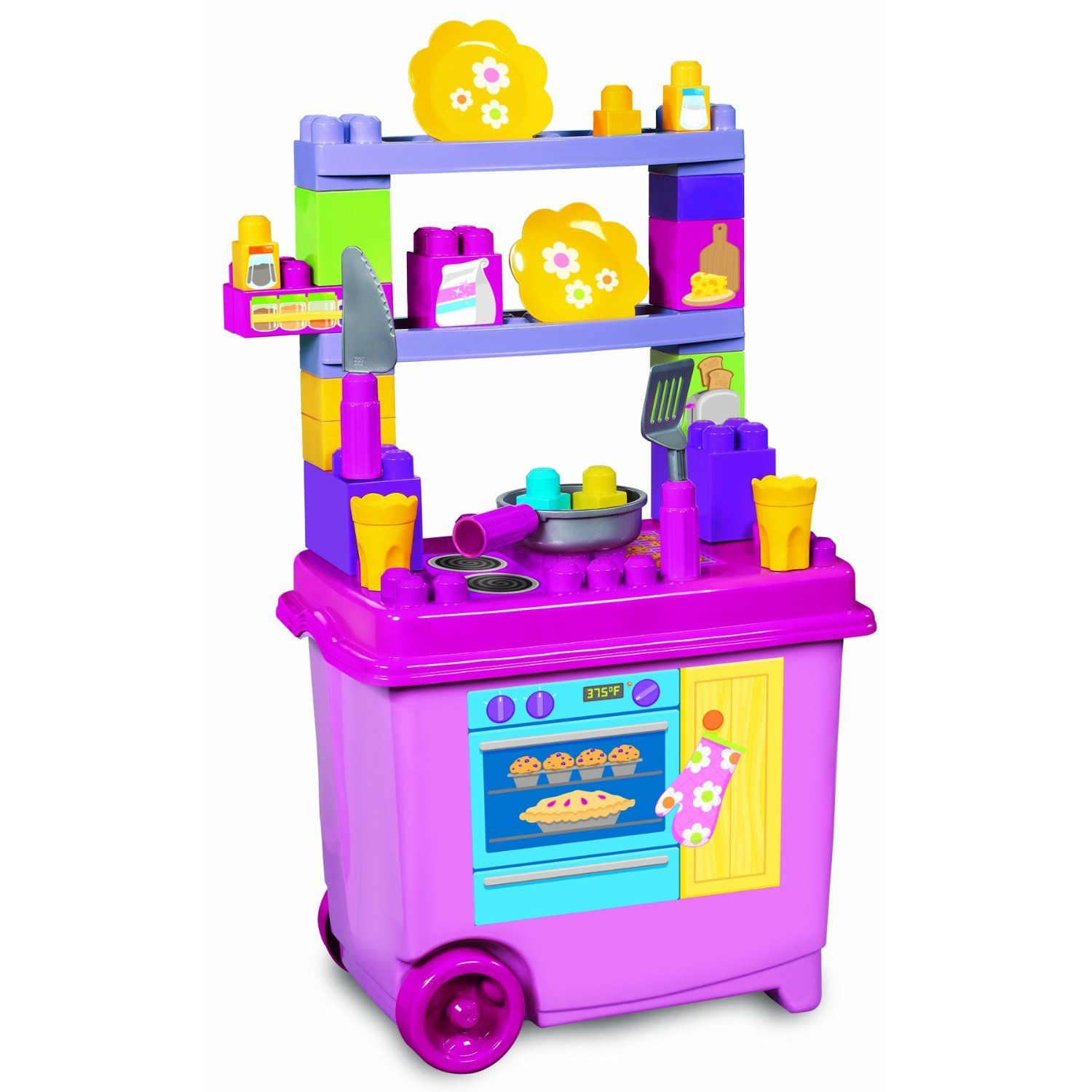 Mega Blocks Build N Play Kitchenette