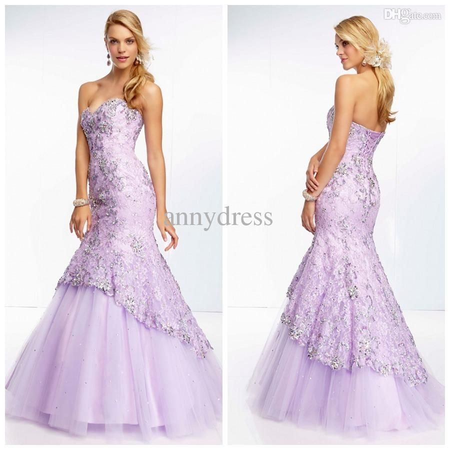 new arrival dazzling sweetheart all over lace and tulle with