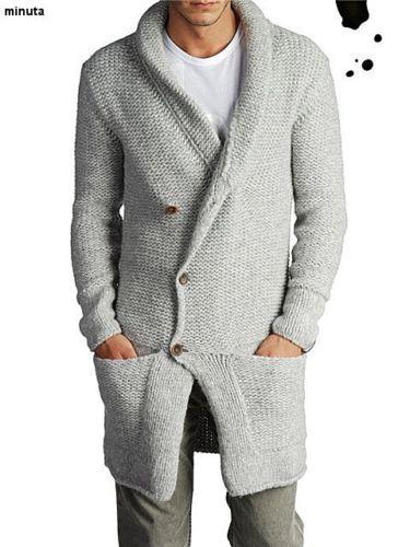 Buzo largo y chaqueta de punto