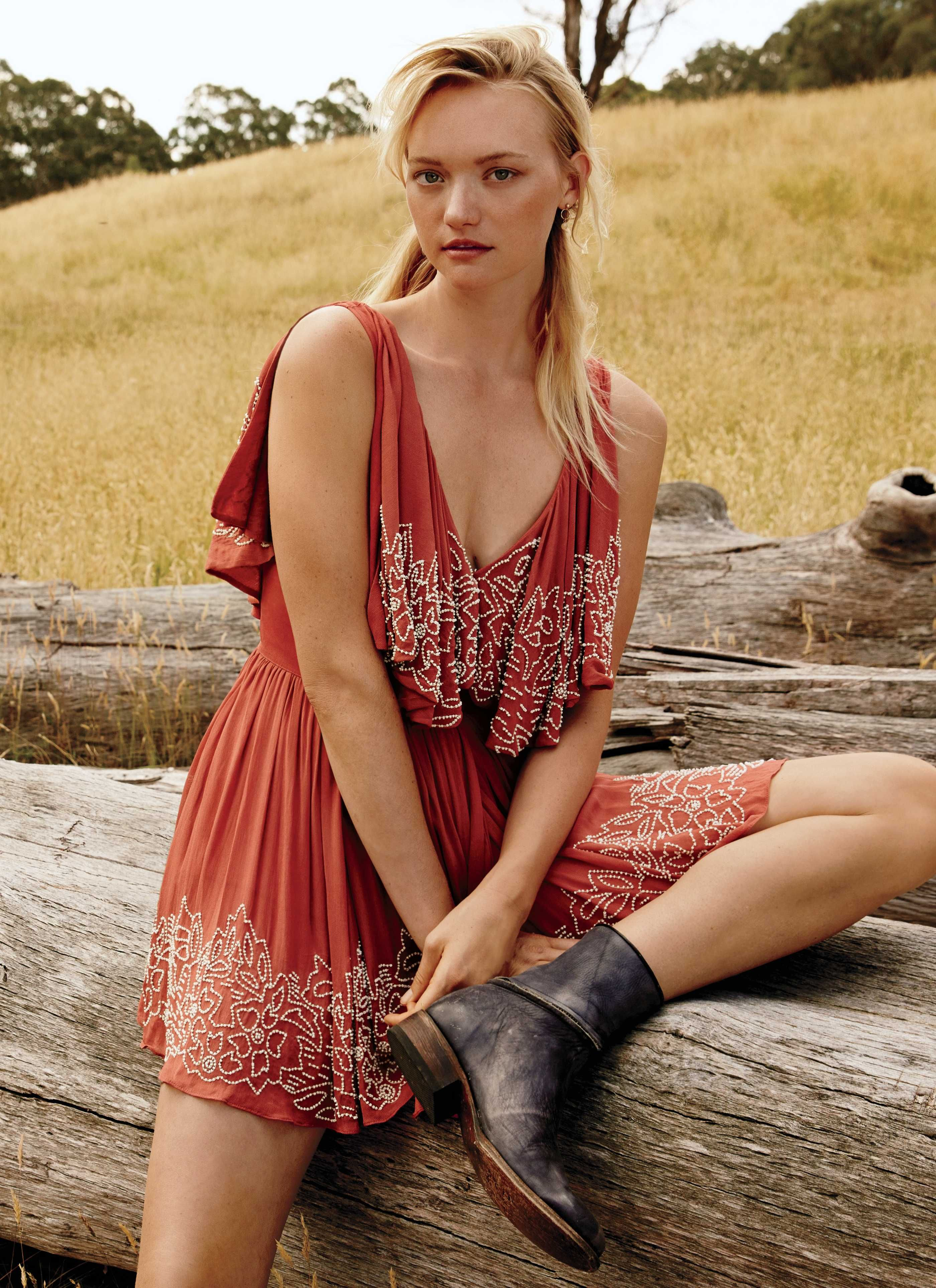 Gemma Ward for Free People's Spring 2019 Lookbook