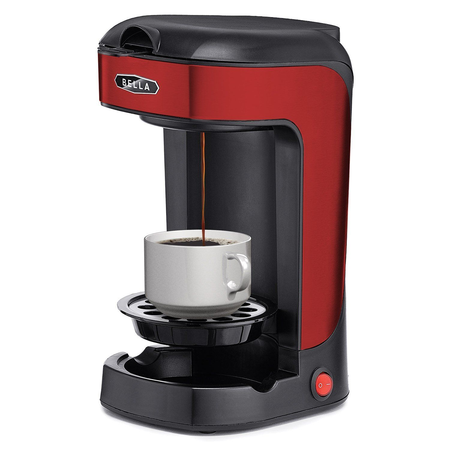 Bella One Scoop One Cup Coffee Maker Review Best Buymorecoffee Com One Cup Coffee Maker Coffee And Tea Makers Coffee Maker