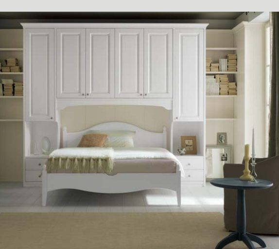 Armadio a ponte | Beds and bedrooms | Pinterest | Armadio, Letti ...