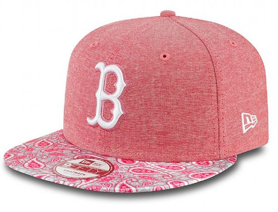 Paisley Visor Boston Red Sox 9Fifty Snapback Cap by NEW ERA x MLB ... 0575480dd22