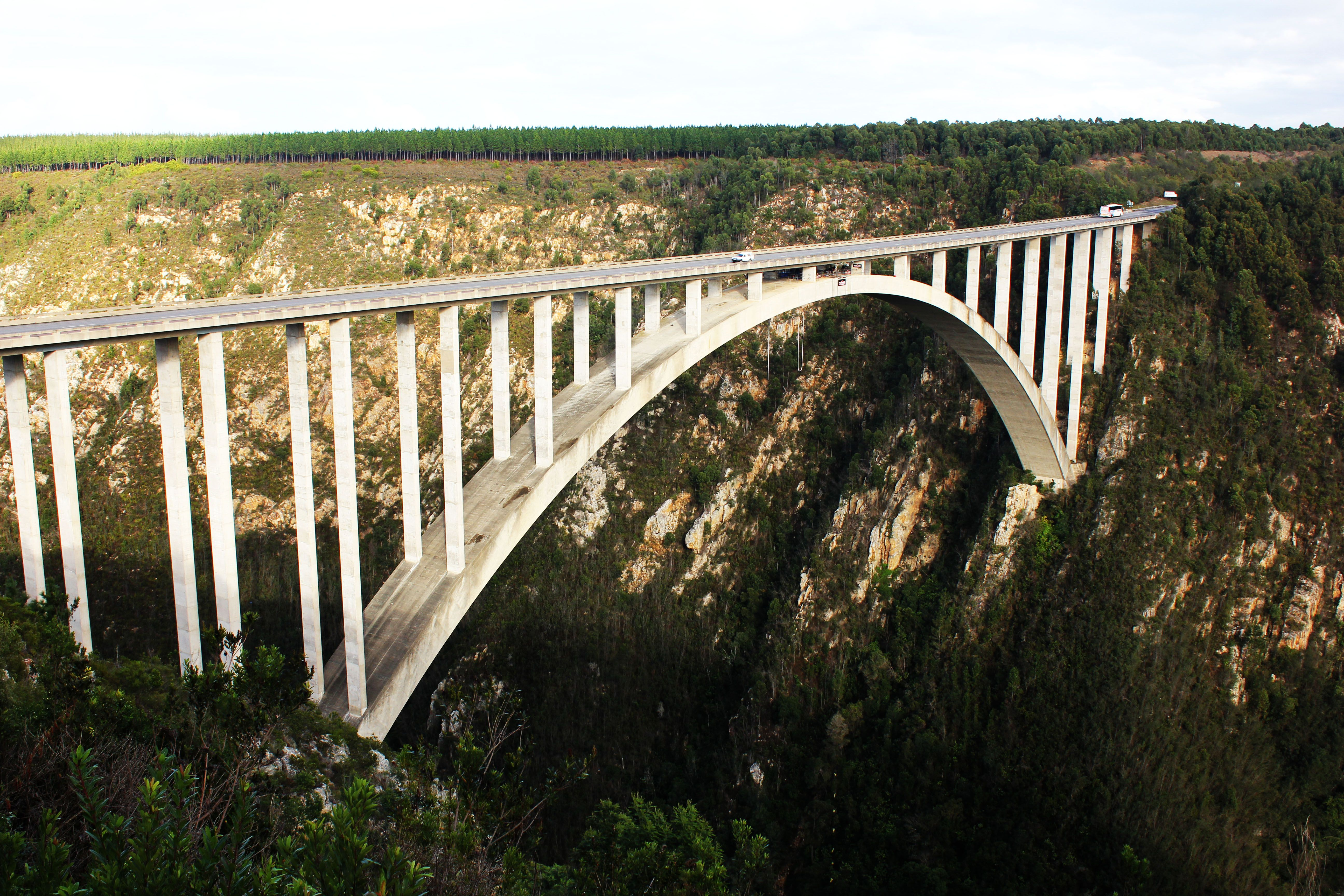 Bungy Jump South Africa I wanted to but freaked out so