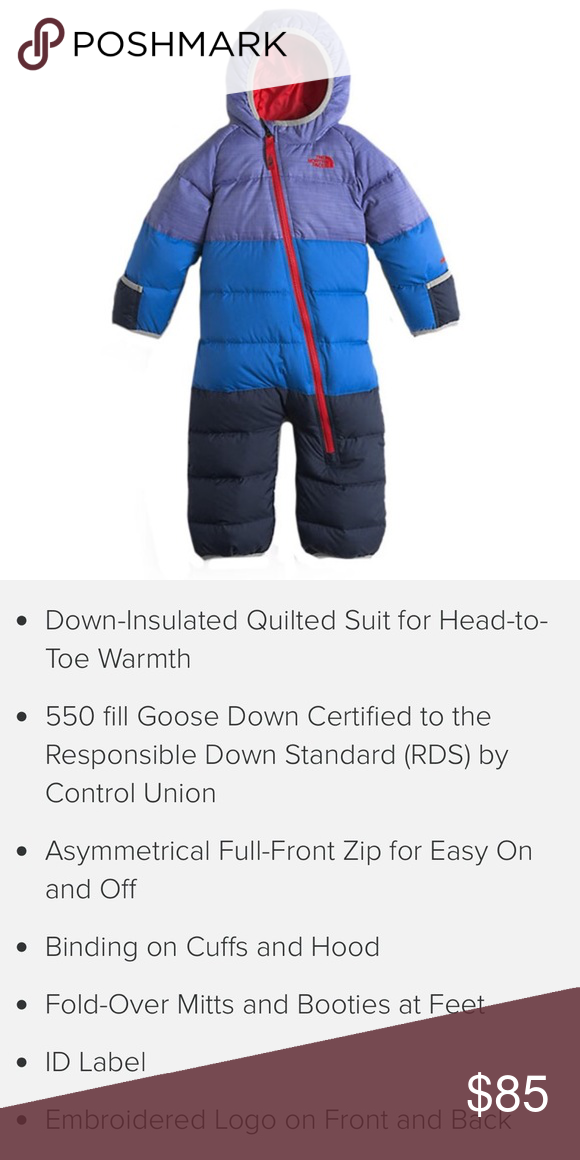 b399ffd6702f The North Face Infant Lil Snuggler Down Suit The North Face Infant ...