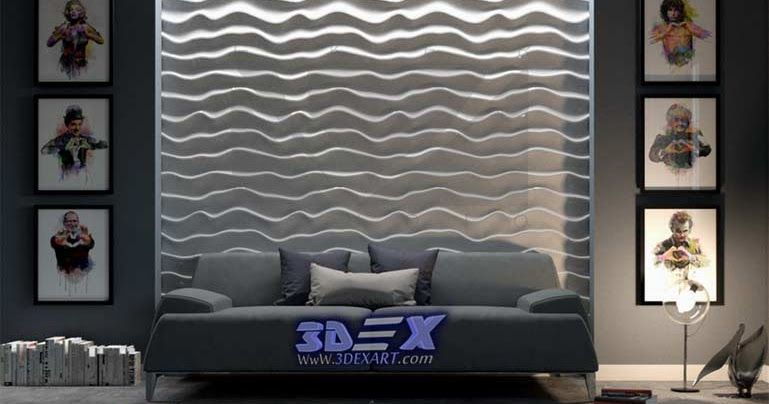 The best solution for wall art, decorative 3d gypsum wall panels ...