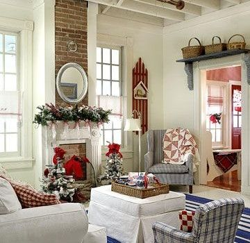 Classic Americana Red White and Blue Home Decor and Interiors