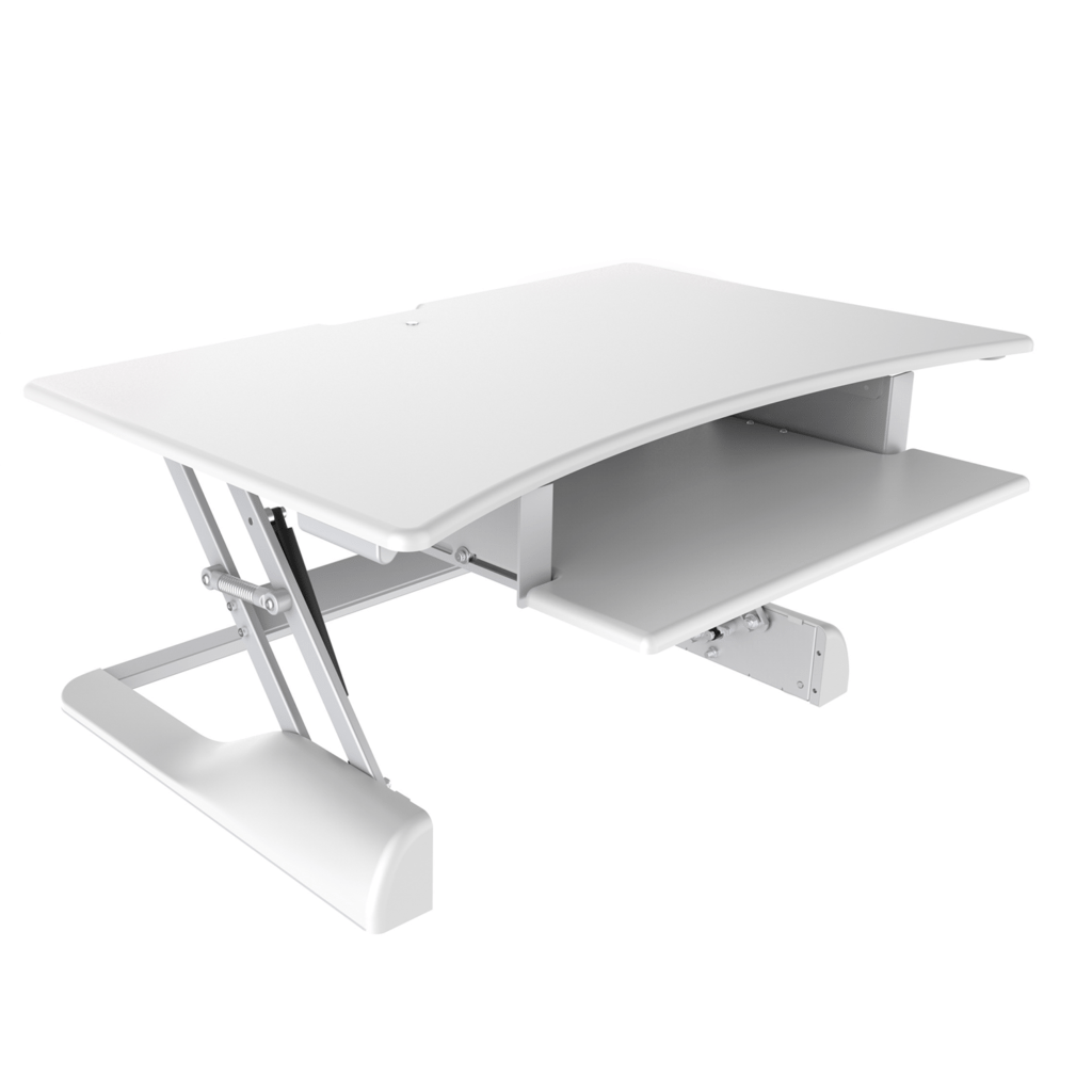 #Desktop Sit Stand In #white. Ideal For #home, Or #office