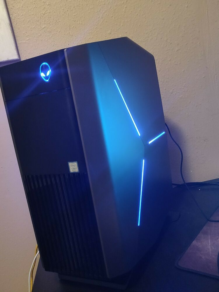 Alienware Aurora R7 I7 8700 32gb 1tb Gtx 1080ti Liquid Cooling