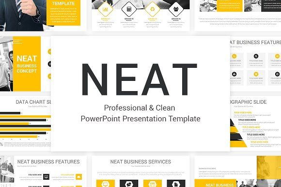 Neat powerpoint template by slideart on creativemarket business neat powerpoint template by slideart on creativemarket toneelgroepblik Gallery