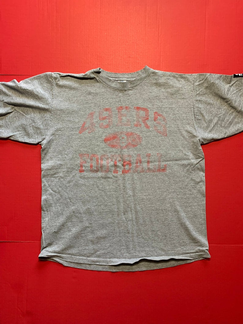 55464d61 Ready for Game Day or Event **** Vintage Starter San Francisco 49ers Tshirt  -- Vintage Unisex Tshirt c. 1980 to 1989 Super 80s vintage look. Vintage  feel.