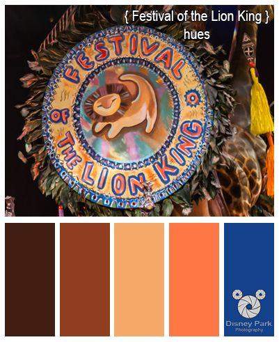 Disney Park Photography - Photo: Festival of the Lion King Colors