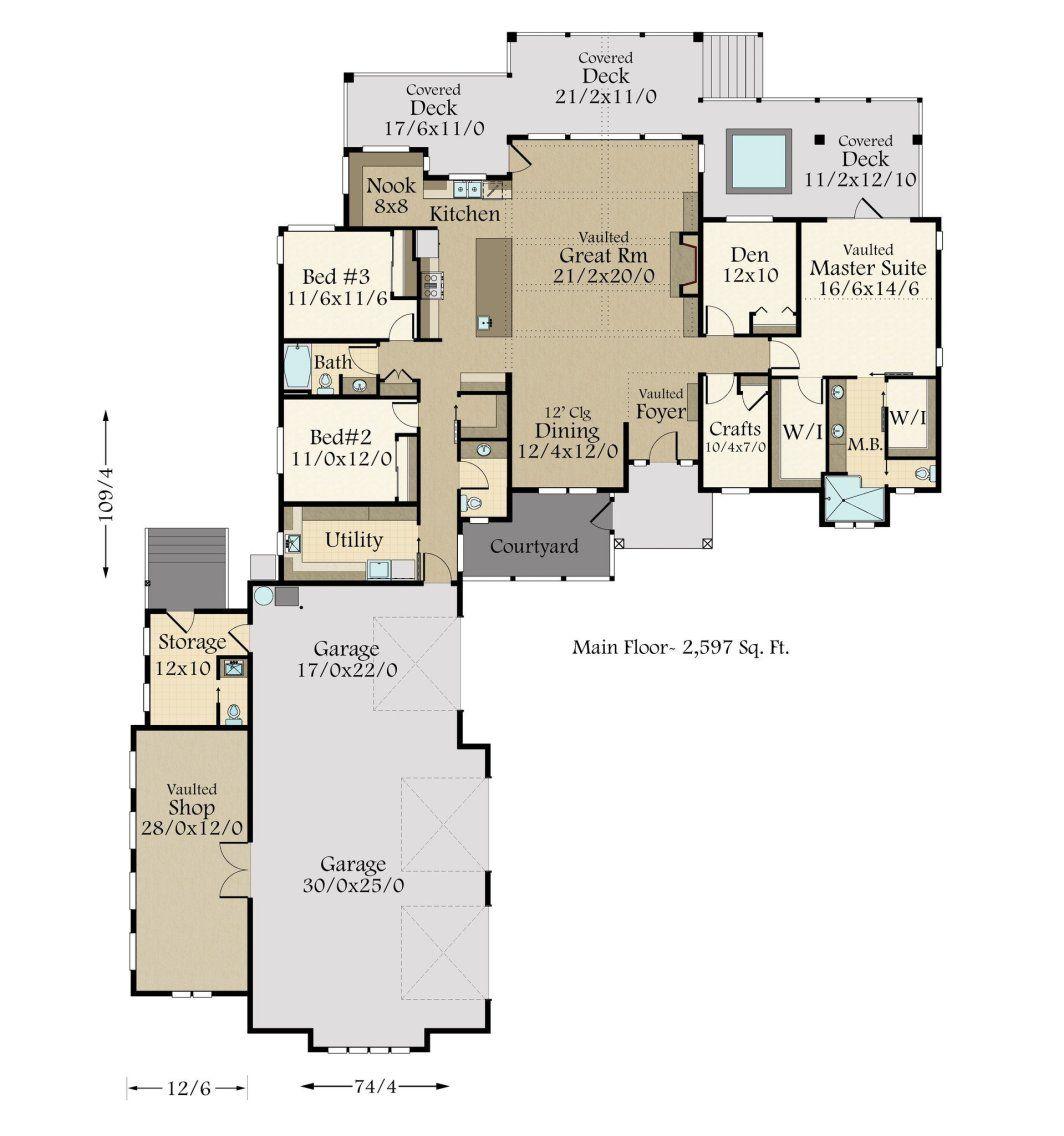 Adirondack Lodge House Plan Modern Lodge Home Design Floor Plan House Plans Home Design Floor Plans Dream House Plans